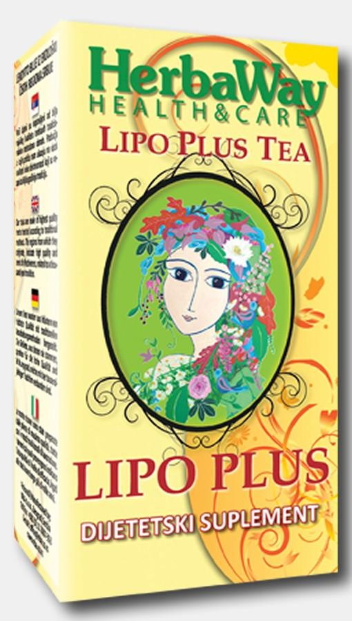 LIPO PLUS - čaj za regulisanje nivoa holesterola i triglicerida
